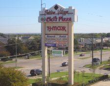 Modified Bitumen Commercial Roof  Beltline Village Shopping Center, Irving, TX